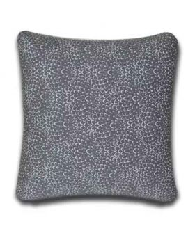 Polly Filler Cotton Cover Set  & Cushion   - Silver