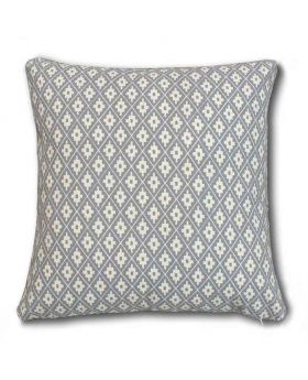 Polly Filler Cushion & Cotton Cover Set - Silver