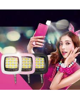 Portable LED Selfie Flash Light - Pink