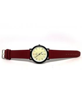 Titan Replica Red Strap Artificial Leather Working Sub-dial Watch for Men