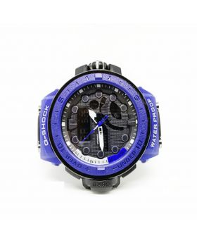 G-Shock Replica Sports Watch Blue Silicon Strap Digital and Analog movement Watch for Men