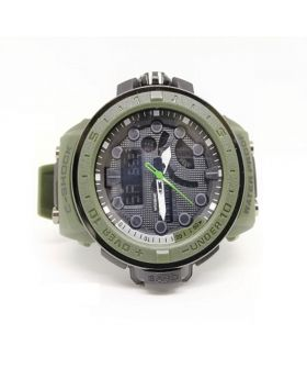 G-Shock Replica Sports Watch Army Green Strap Digital and Analog movement Watch for Men