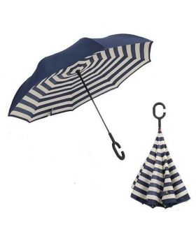 Mixed 3D Printed Inverted Double Layer C-Hook Umbrella