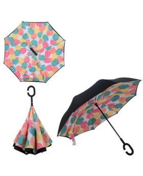 C-Hooked Inverted Umbrella - 3D Mixed Color