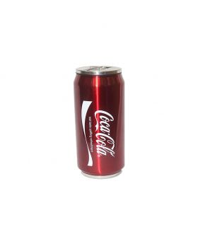 Golden color Stainless Steel Vacuum Coca Cola Cans Unique Design  Water Bottle-500ml