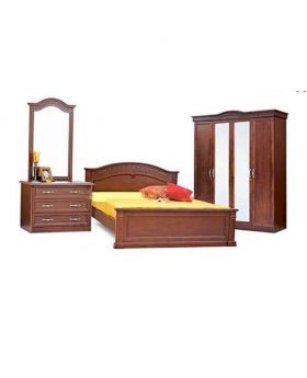 Full Bedroom Set made by Malaysian Processing Wood- MDF