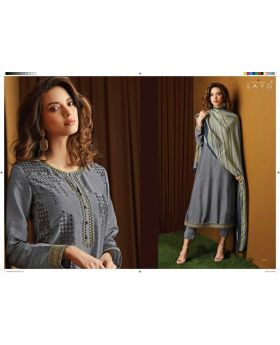 Sarg Crystal Beauty Designer Salwar Suits Collection