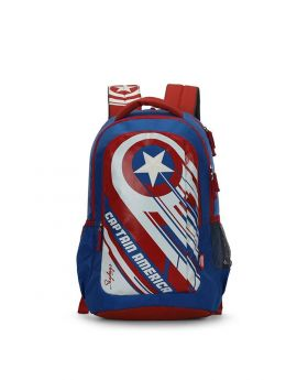 Skybags Marvel 09 32 Ltrs Blue Casual Backpack (Marvel 09)