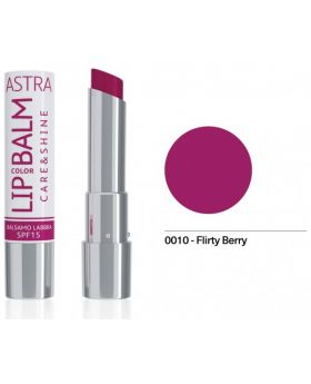 Astra - Lip Color Balm - 0010: Flirty Berry