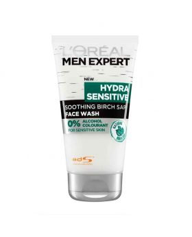 L'Oreal Paris Men Expert Hydra Sensitive  Daily Wash 100ml(UK)