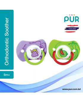 Pur Orthodontic Silicon Soother (6m+) – (14029)