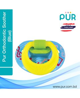Pur Orthodontic Silicon Soother (6m+) – (14031)