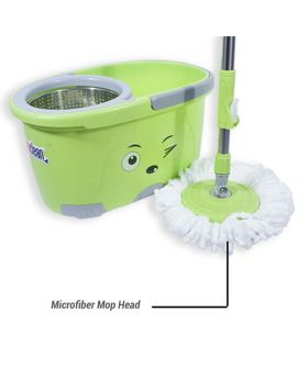 Microfiber 360 Degree Regular Rotary/Spin Mop Floor Cleaning Mop_RM-9623
