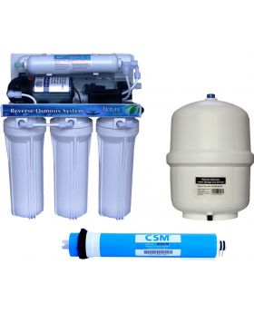 6 (Six) Stage RO water filter Wall Mount