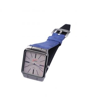 Signature ST02201-0058 Stainless Steel Leather  Belt Analogue Watch For Men