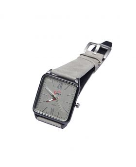 Signature ST02201-0057 Stainless Steel Leather  Belt Analogue Watch For Men