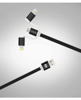 Vorson 3 In 1 cable (type C ,Andorid ,Iphone)