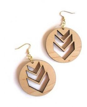 Armenian Wooden Earrings