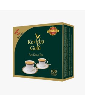 Kericho Gold Tea Bags With Tag 50 String & Tag