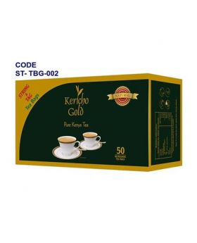 Kericho Gold Tea Bags With Tag 25 String & Tag