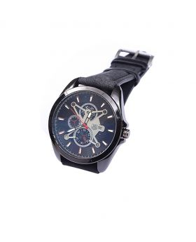 TG TG06506_0072 Stainless Still Leather  Belt Analogue Watch For Men