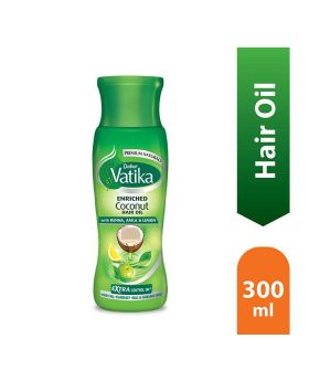 Dabur Vatika Enriched Coconut Hair Oil 300ml