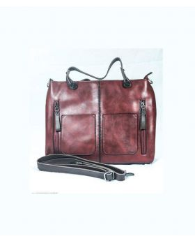 Artificial Leather Hand/Laptop Bag