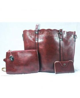 Good quality Artificial Leather Handbag- VG15