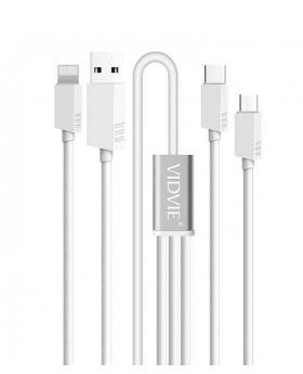 Vidvie CB413 3 in 1  Fast Charging Cable