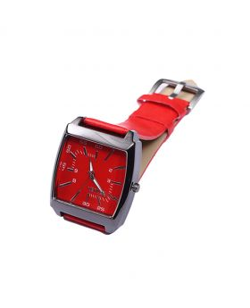 Xenlex XX02201-0069 Stainless Steel  Leather  Belt Analogue Watch For Men