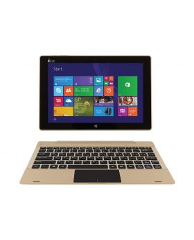I-life ZEDBook W Intel Atom Z3735F Intel Quad Core Processor (1.33-1.83Ghz, 2GB DDR3, 32GB eMMC) Detachable 10.1  Inch Touch IPS Display Win-10 Home Notebook