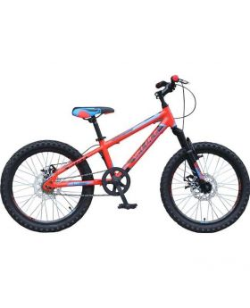 "Veloce Junior 20"" Double Speed Red Bicycle 