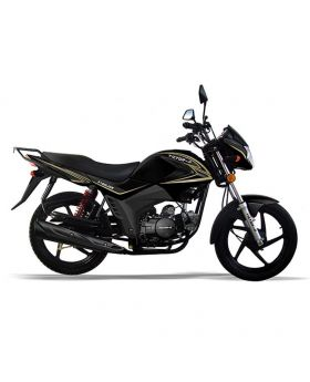 Victor R V100 Link 100cc Black Alloy & Self  Motorcycle