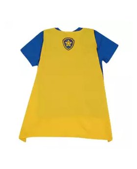Blue Cotton Short Sleeve T-shirt For Boys