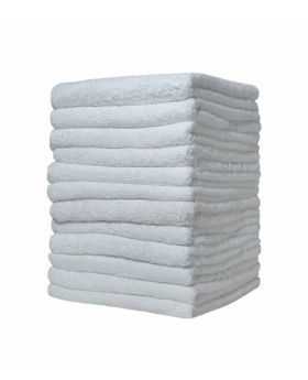 12 Pcs Hand Towel-White