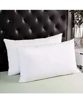 2 Pcs Head Pillow White Color Set