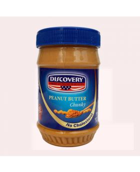 Discovery Peanut Butter CHUNKY 340gm