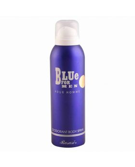 Rasasi Blue For Men Pour Homme Deodorant Body Spray