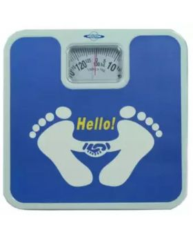 Weight Scale Machine - Blue