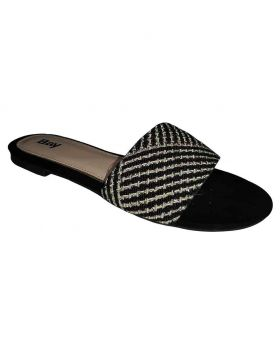 Ladies Open Flats Synthetic Upper material 195616880