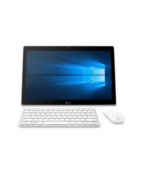 I-life ZEDPC All in One PC with Intel Celeron DUAL Core N3350 2500mAH Battery, Win-10 Home, 17.3 Inch Full Multi-touch (Silver)