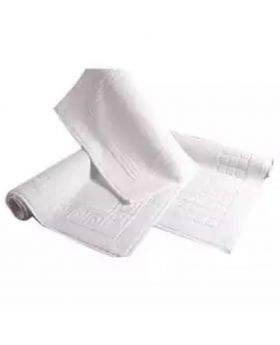 3 Pcs Bath Mat-White