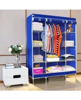 HCX Wardrobe Storage Organizer for Clothes - Big Size - Blue