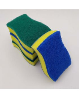 Cleaning Kitchen Sponge
