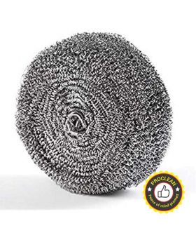 Stainless Steel Dish Scourers Pad 8 Pcs Pack- Scouring Pad, Pot Scrubber, Stainless  Steel Scrubber, Steel Wool Scrubber, Metal Sponge_SS-0148