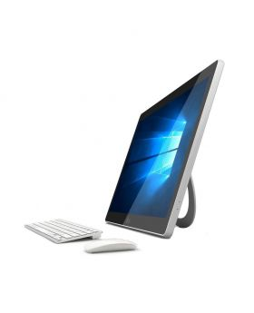 I-life ZEDPC All in One PC with Intel Celeron DUAL Core N3350 2500mAH Battery, Win-10 Home, 17.3 Inch Full Multi-touch (White)