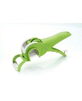 Vegetable/ Fruit Multi Cutter and Peeler - Green