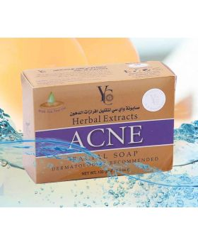 YC 100gm Herbal Extracts ACNE  Facial Soap