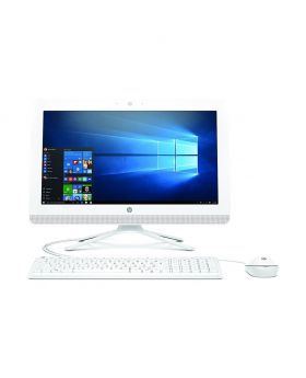 HP AIO 20-C403D Intel CDC J5005 19.5 Inch HD Display, USB Keyboard and MOuse, Win 10 White All in One Brand PC #3JU96AA