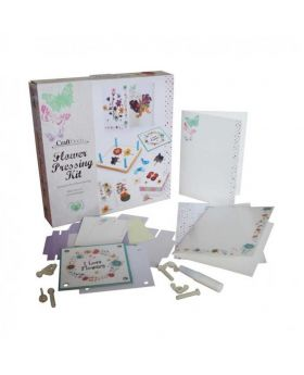 Craft Deco Flower Pressing Kit - Off White